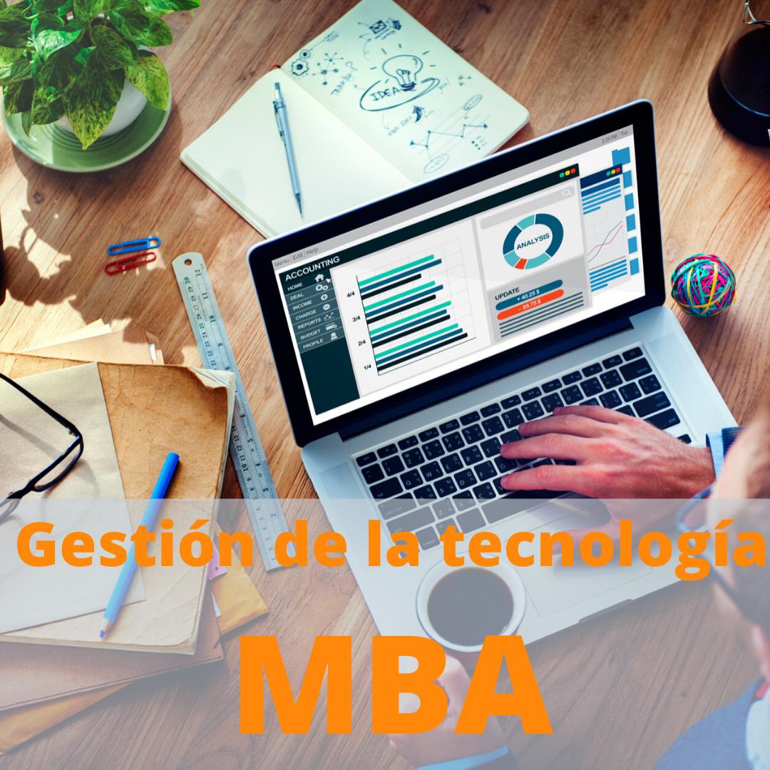 MBA + Título propio de Experto Nebrija en Gestión de la Tecnología